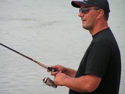 Ловля спиннингом с берега